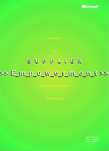 9780735614987: Supplier Empowerment