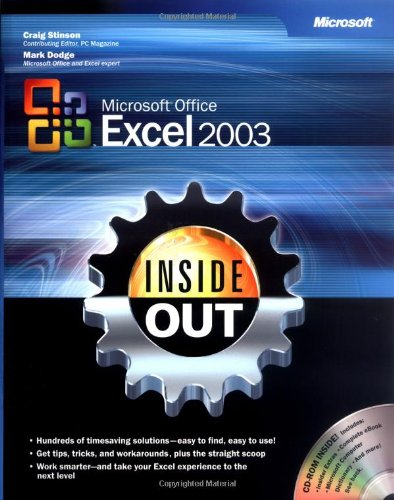 9780735615113: Microsoft® Office Excel 2003 Inside Out (Bpg Inside Out)
