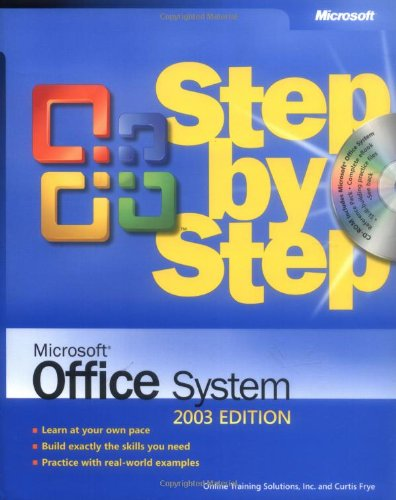 9780735615205: Microsoft® Office System Step by Step -- 2003 Edition