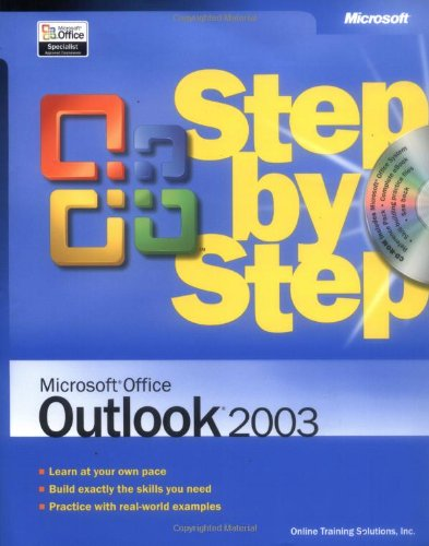 9780735615212: Microsoft® Office Outlook® 2003 Step by Step