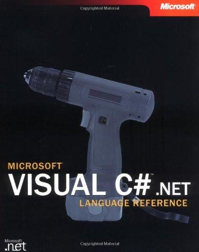 9780735615540: Microsoft Visual C#(TM) .NET Language Reference (Developer Reference)