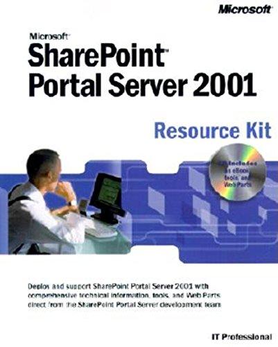 9780735615625: Microsoft Sharepoint Portal Server 2001 Resource Kit (It Professional)