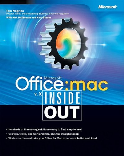 9780735616288: Microsoft® Office v. X for Mac Inside Out