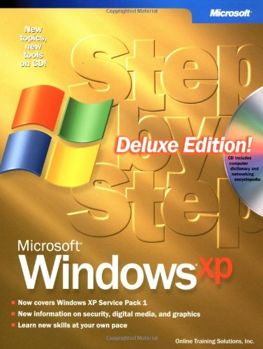 9780735616318: Microsoft® Windows® XP Step by Step, Deluxe Edition