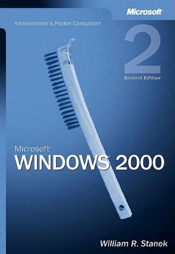 9780735617926: Microsoft® Windows® 2000 Administrator's Pocket Consultant (Pocket Administrator)