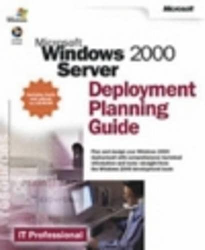 9780735617940: Microsoft Windows 2000 Server Deployment Planning Guide (IT-Resource Kits)