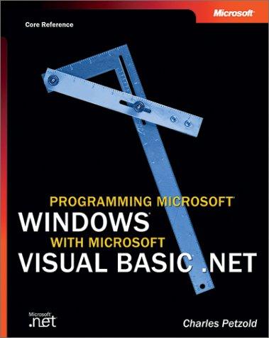 9780735617995: Programming Microsoft Windows with Microsoft Visual Basic .Net (Core Reference) (Pro-Developer)