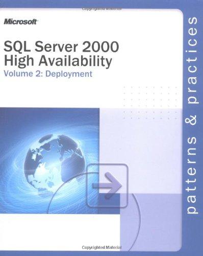 9780735618367: SQL Server 2000 High Availability Volume 2: Deployment