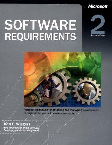 9780735618794: Software Requirements (Best Practices)