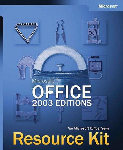 9780735618800: Microsoft� Office 2003 Editions Resource Kit