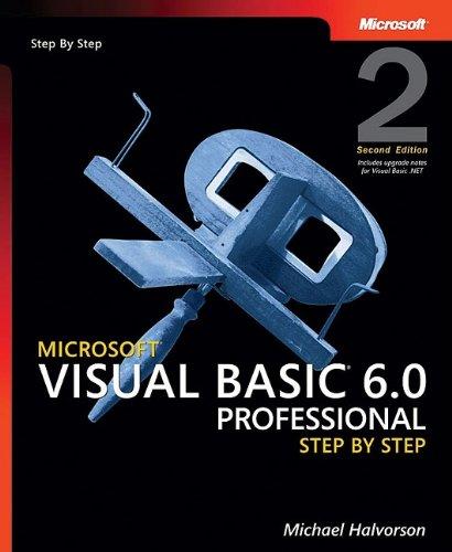 Microsoft Visual Basic 6.0 Professional Step-By-Step - ISBN:9781417626038