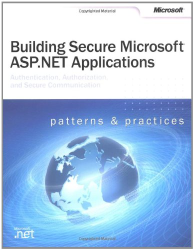9780735618909: Building Secure Microsoft ASP.NET Applications (Developer Reference)