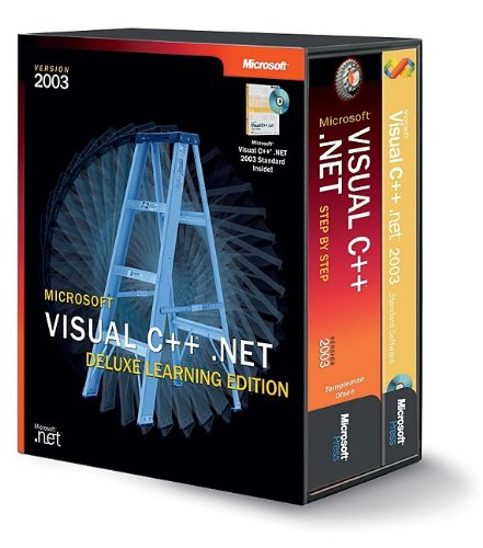 9780735619081: Microsoft® Visual C++® .NET Deluxe Learning Edition--Version 2003 (Pro Developer)