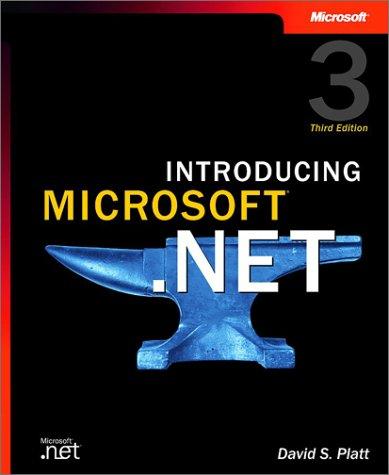 9780735619180: Introducing Microsoft® .NET (Pro-Developer)