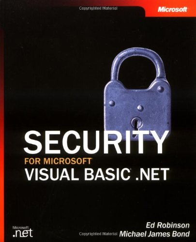 9780735619197: Security for Microsoft Visual Basic .NET (Developer Reference)