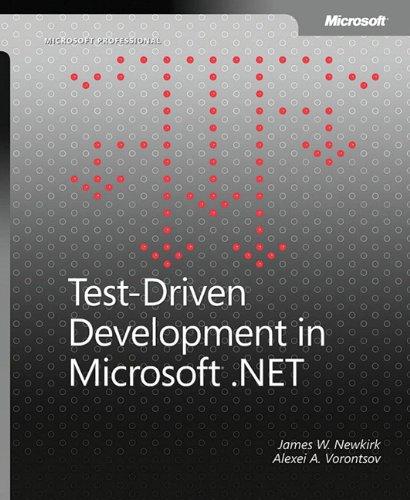 9780735619487: Test-Driven Development in Microsoft® .NET (Developer Reference)