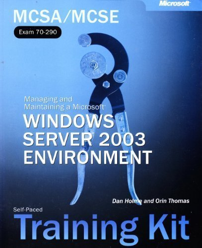 9780735619531: MCSE Self-Paced Training Kit (Exams 70-290, 70-291, 70-293, 70-294): Microsoft(r) Windows Server(tm) 2003 Core Requirements (Pro-Certification)