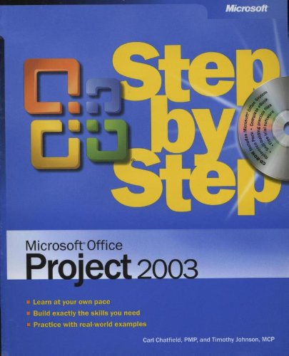 9780735619555: Microsoft® Office Project 2003 Step by Step