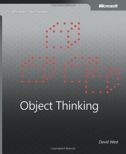 9780735619654: Object Thinking (Microsoft Professional)