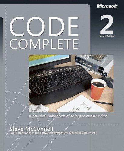 9780735619678: Code Complete: A Practical Handbook of Software Construction