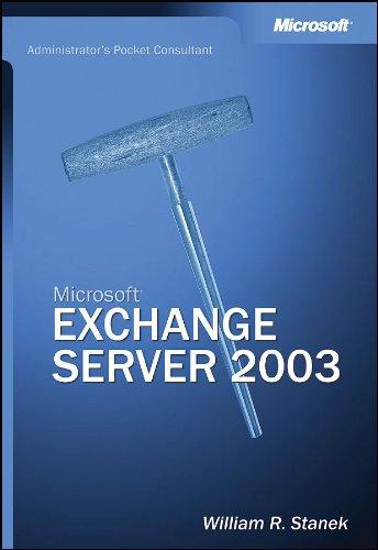 9780735619784: Exchange Server 2003 Administrators Pocket Consultant