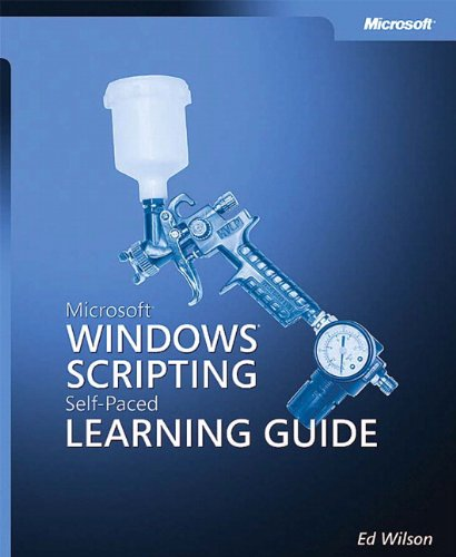 9780735619814: Microsoft® Windows® Scripting Self-Paced Learning Guide