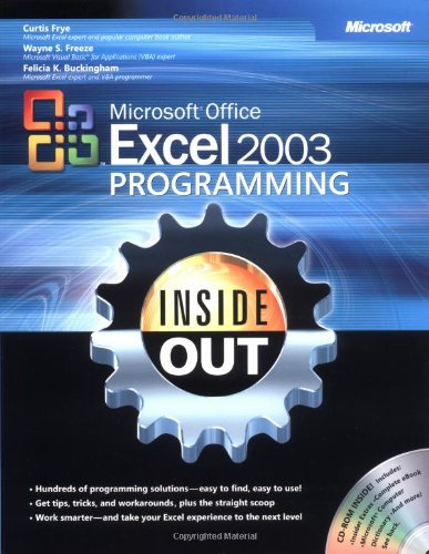 9780735619852: Microsoft Office Excel 2003 Programming Inside Out