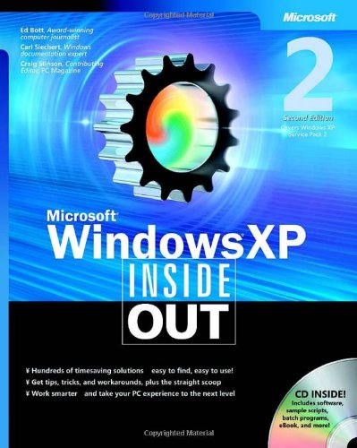 9780735620445: Windows XP Inside Out Book/CD Package 2nd Edition