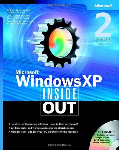 9780735620445: Microsoft® Windows® XP Inside Out (Bpg-Inside Out)