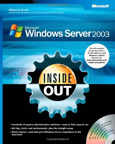 9780735620483: Windows Server 2003 Inside Out Book/CD Package