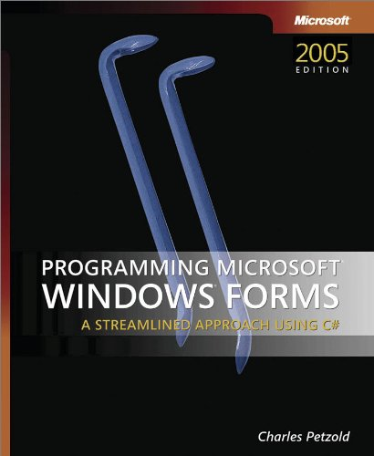 9780735621534: Programming Microsoft® Windows® Forms (Developer Reference)