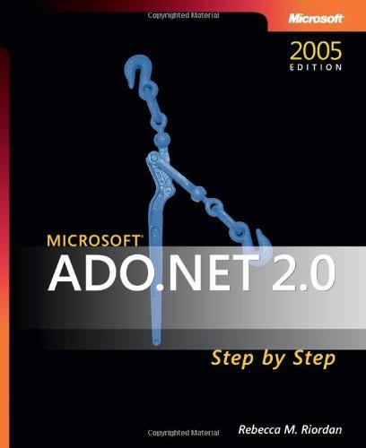 9780735621640: Microsoft® ADO.NET 2.0 Step by Step (Step by Step Developer)