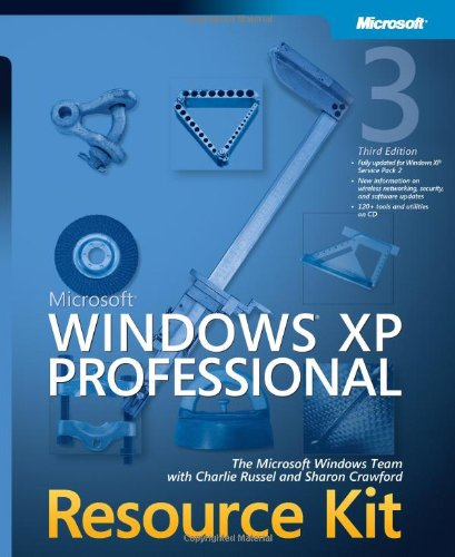 9780735621671: Microsoft® Windows® XP Professional Resource Kit