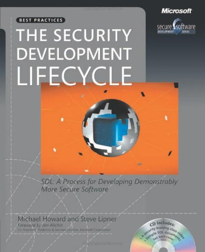 9780735622142: The Security Development Lifecycle: SDL: A Process for Developing Demonstrably More Secure Software (Developer Best Practices)