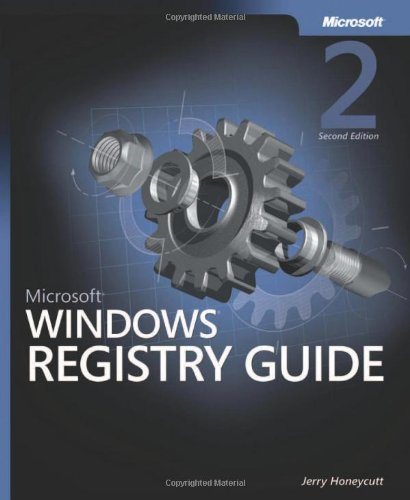 9780735622180: Microsoft® Windows® Registry Guide (Pro One Offs)