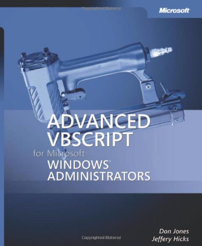 9780735622449: Advanced VBScript for Windows Administrators Book/CD Package