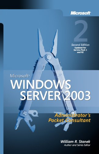 9780735622456: Microsoft® Windows Server(TM) 2003 Administrator's Pocket Consultant