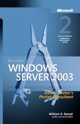 9780735622456: Microsoft® Windows Server(TM) 2003 Administrator's Pocket Consultant
