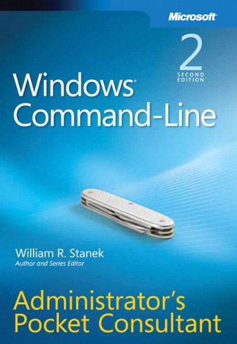9780735622623: Windows Command-Line Administrator's Pocket Consultant, 2nd Edition