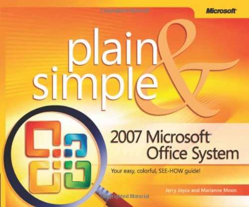 9780735622739: 2007 Microsoft® Office System Plain & Simple