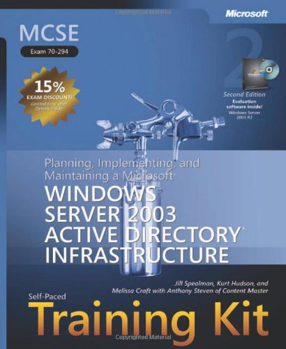 9780735622869: MCSE Self-Paced Training Kit (Exam 70-294), Second Edition