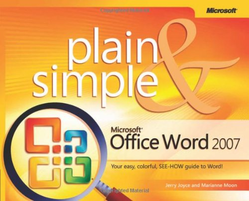 9780735622937: Microsoft® Office Word 2007 Plain & Simple