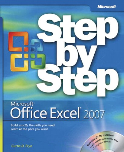 9780735623040: Microsoft Office Excel 2007 Step by Step Book/CD Package