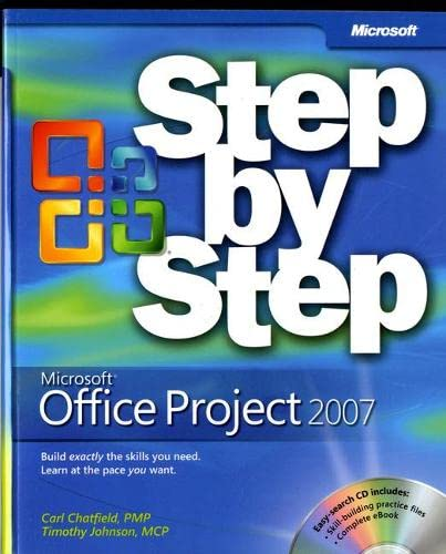 9780735623057: Microsoft Office Project 2007 Step by Step