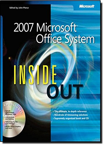 9780735623248: 2007 Microsoft® Office System Inside Out