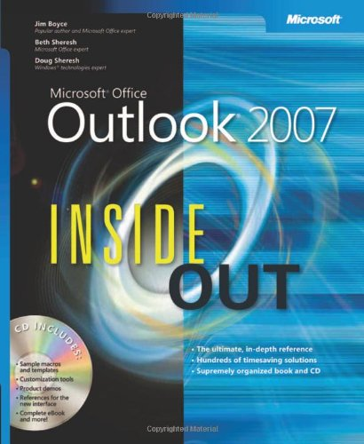9780735623286: Microsoft® Office Outlook® 2007 Inside Out