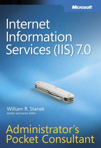 9780735623644: Internet Information Services (IIS) 7.0 Administrator's Pocket Consultant (PRO-Administrator's Pocket Consultant)