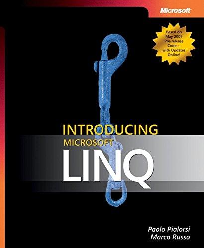 9780735623910: Introducing Microsoft LINQ