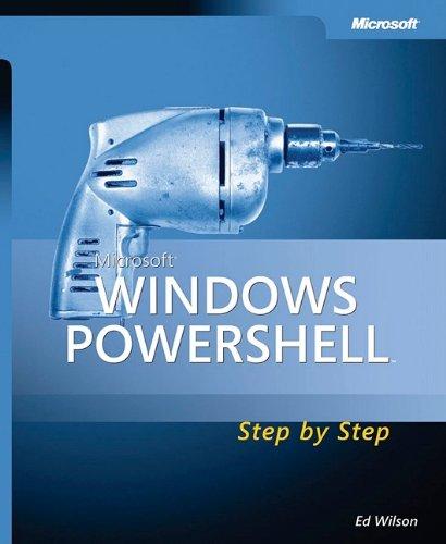 9780735623958: Microsoft® Windows PowerShell™ Step By Step (Step by Step Developer)