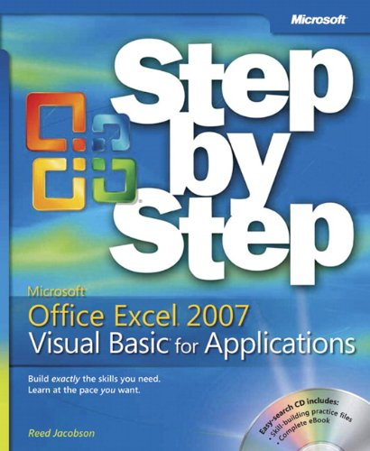 9780735624023: Microsoft® Office Excel® 2007 Visual Basic® for Applications Step by Step